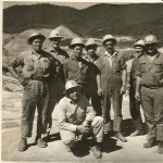 Grouting Crew at Blowering Dam 1965