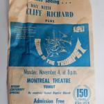 1974 Montreal Theatre Flyer