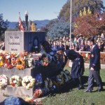 ANZAC Wreath Laying 1961