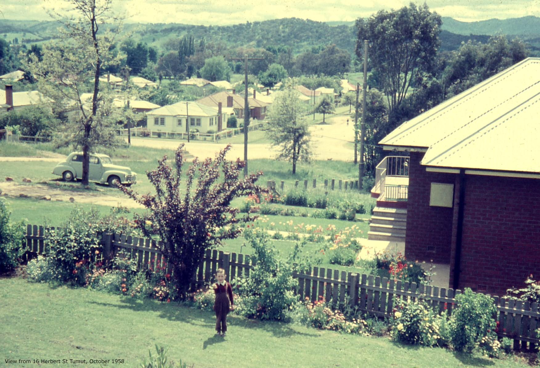 bonnor-Herbert St view 1958
