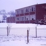 Tumut High School in Snow