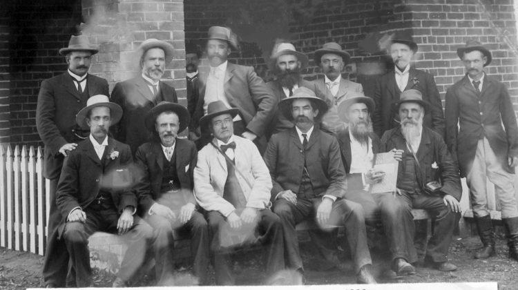 Tumut Turf Club Committee Circa 1900